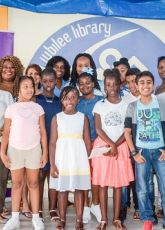 St. Maarten children hold Skype conversations with Dutch peers