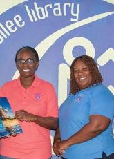 """Book presentation of "" Unified St. Maarten Connection Student Manual:"