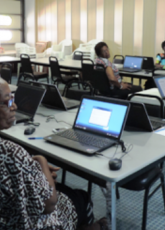 Library's computer workshop for senior citizens a success