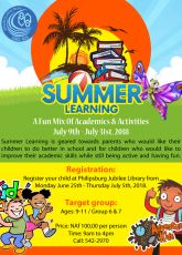 Summer Learning at your library