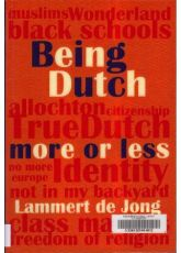 Being Dutch more or less