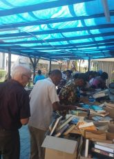 Book sale at the Philipsburg Jubilee Library