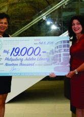 Donation for Philipsburg Jubilee Library