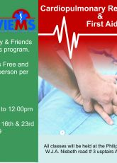 Philipsburg Jubilee Library to offer CPR course