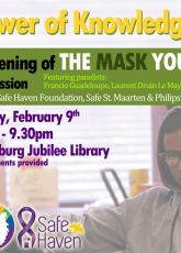 """The MASK YOU LIVE IN"" Screening at the Philipsburg Jubilee Library"