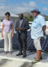 Deputy Prime Minister Marlin to Launch Solar Energy Project at the Library