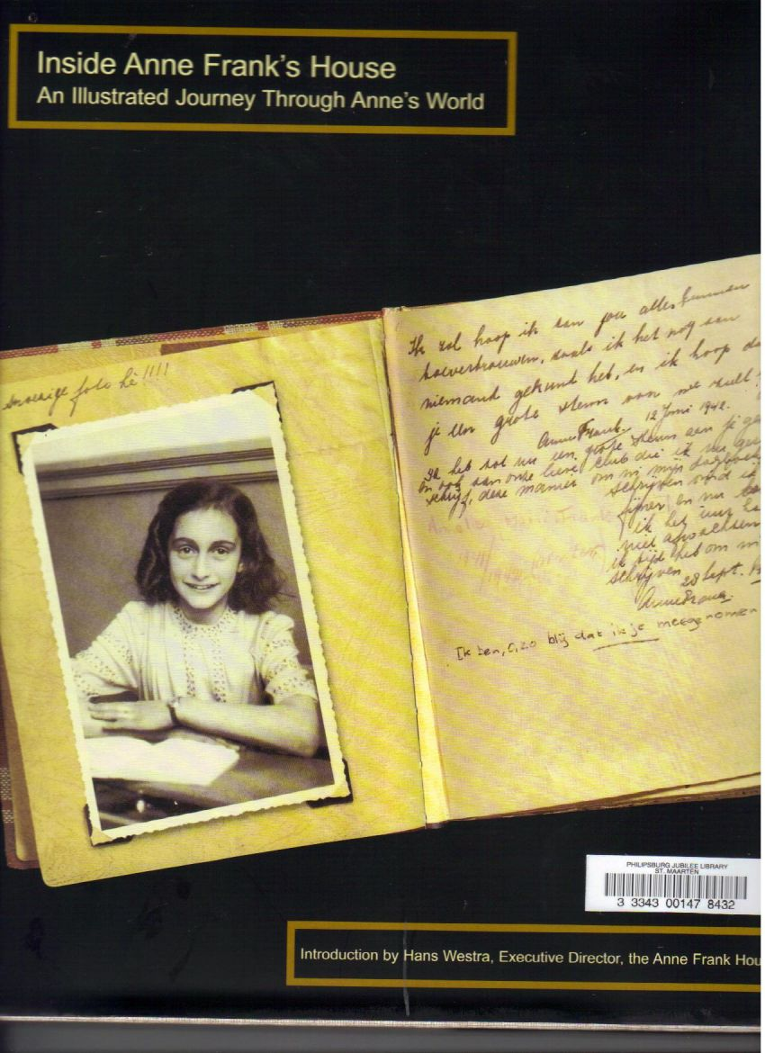 anne frank writing as a journey